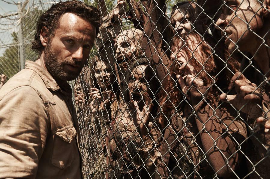 Zombies en las series y television
