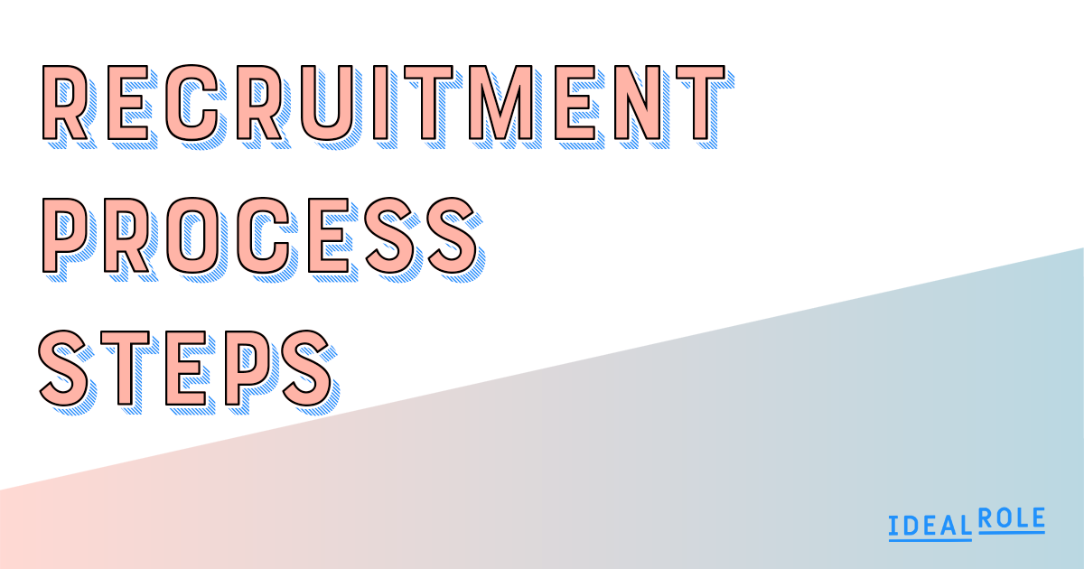 The steps in every successful recruitment process