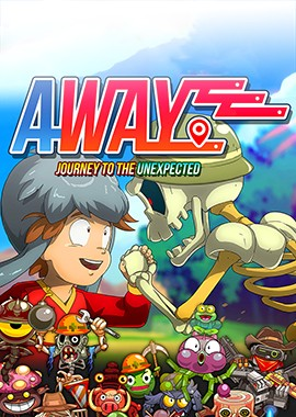 AWAY Journey of the Unexpected box art