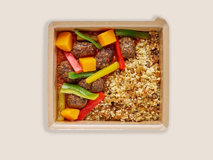Lamb Koftas with Bulgur Wheat