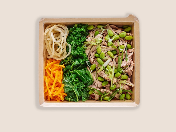 Shredded Hoisin Duck with Wholewheat Noodles