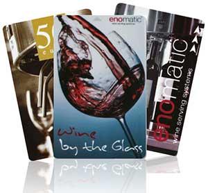 Winecard til enomatic vindispensere