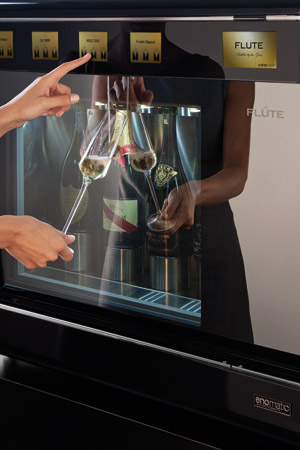vinautomat til mousserende vin