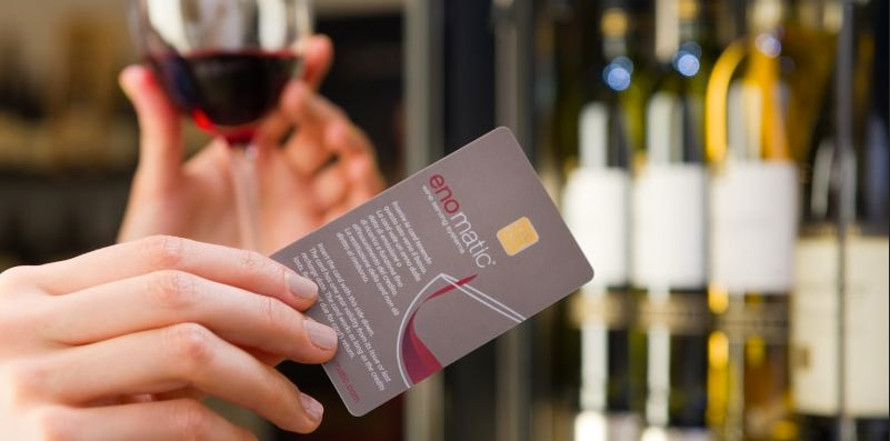 winecard til enomatic vindispenser