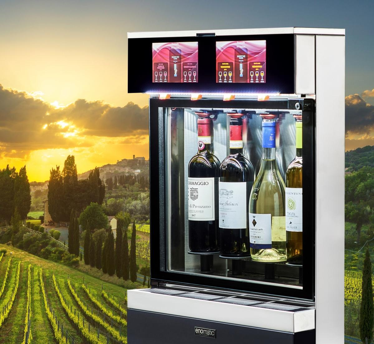 Bedste vindispenser til vinhandler