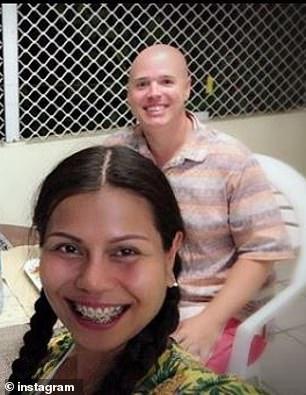 Chad Elwartowski and girlfriend Supranee Thepdet