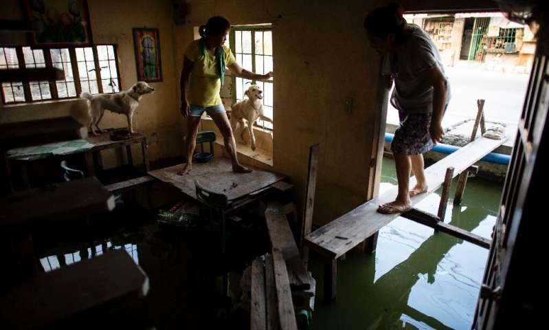 The demand for water has soared as Manila's population has nearly doubled since 1985, and the size of the nation's economy has e