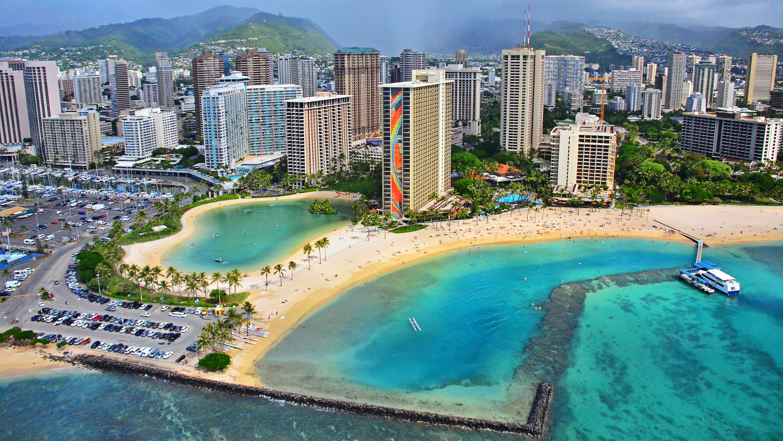 Rainbow tower Waikiki