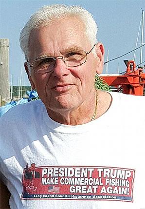 Fisherman Mike Gambardella. Photo credit: Mike Gambardella