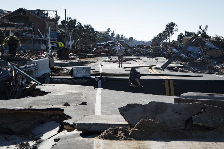 GP: Mexico Beach Florida Hurricane Michael