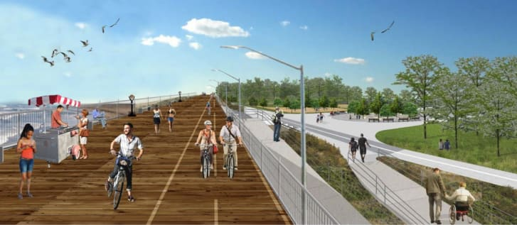 """A visualization from Governor Andrew Cuomo's """"coastal resiliency project""""."""