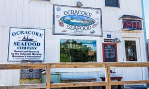 Super fresh: the Ocracoke Seafood Company.