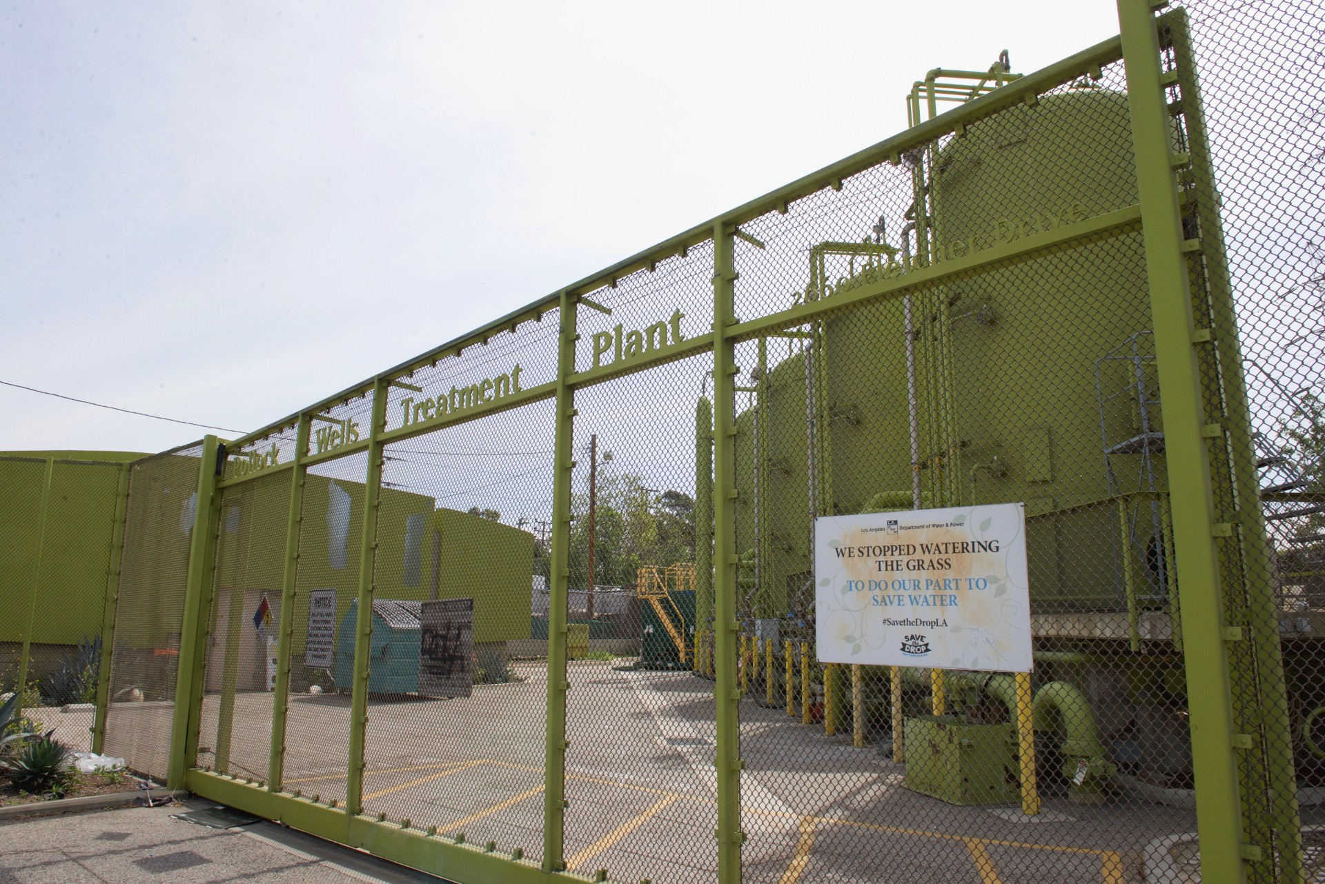Pollack treatment plant