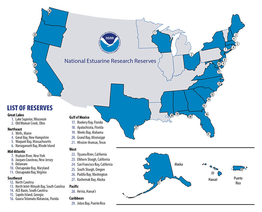 Reserves Map