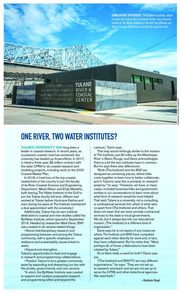 Water Institute ByWater Institute
