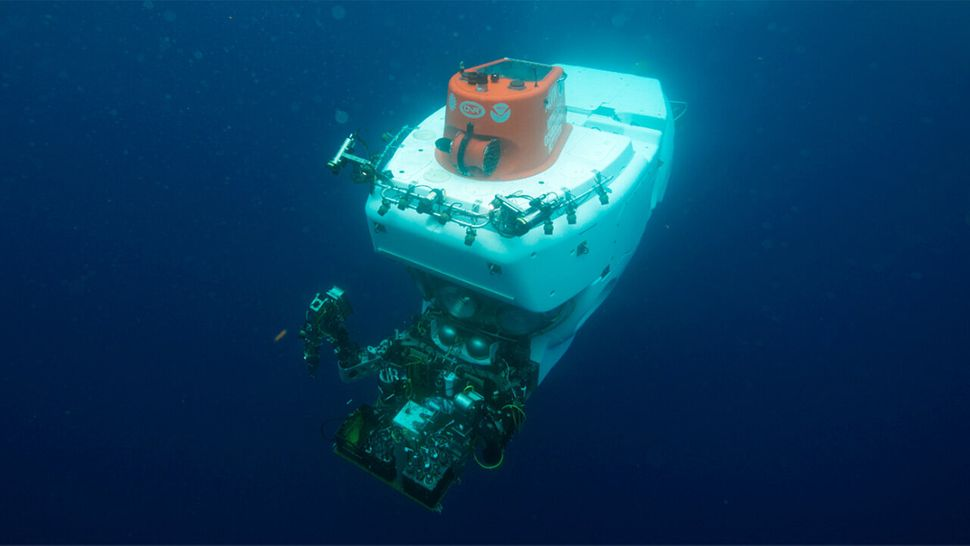 Alvin, a three-person manned submersible, has completed more than 5,000 dives since it started operating in 1964.