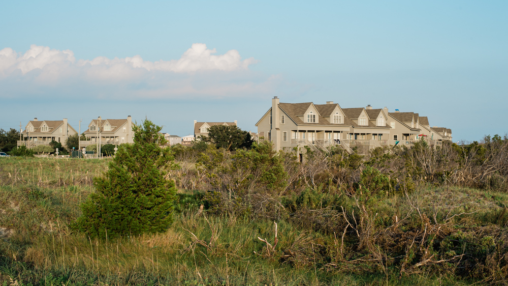 The land is adjacent to the Serenity Point townhome community. (Port City Daily photo/Mark Darrough)