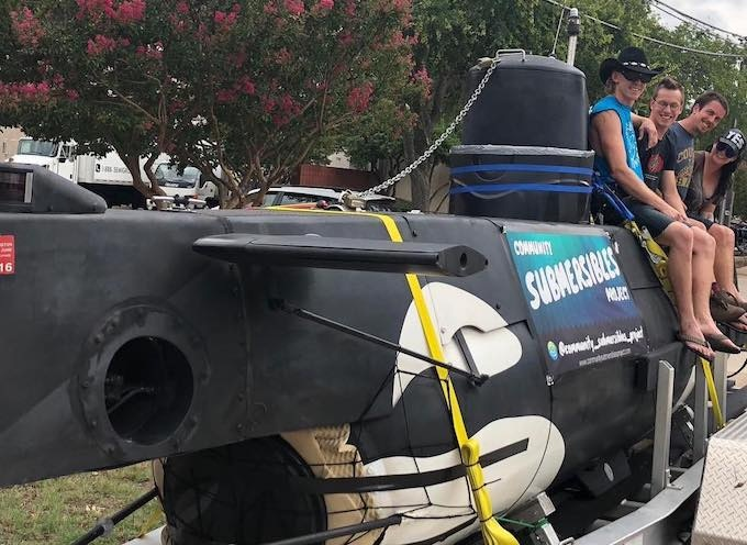 The Community Submersibles Crew takes Noctiluca cross-country to her new home in Berkeley, CA!