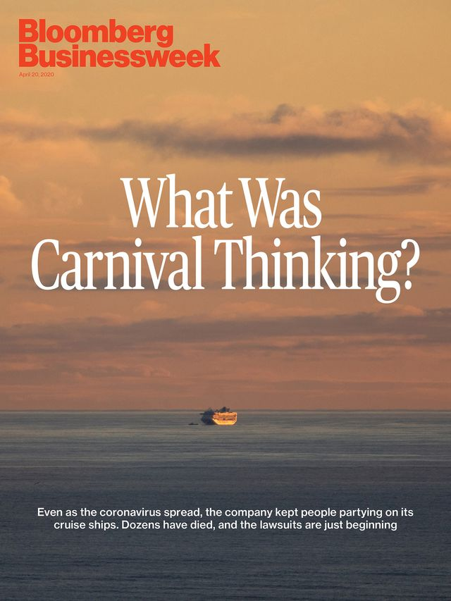 Bloomberg Businessweek cover, April 20, 2020