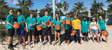 The number of hours NOAA Planet Stewards K-12 students spent engaging in stewardship activities.