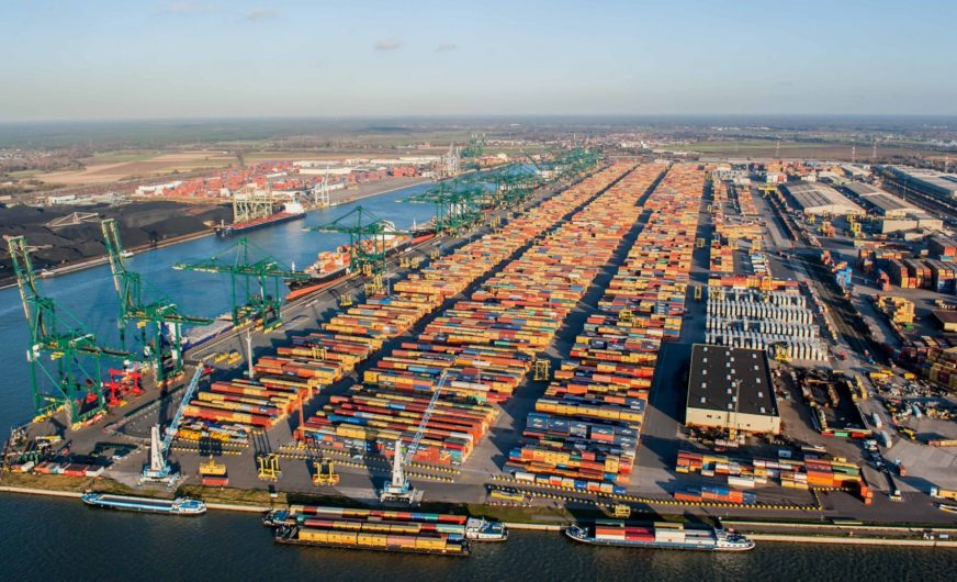 Europe - PORT OF ANTWERP TO LEAD NEW GREEN PORTS CONSORTIUM