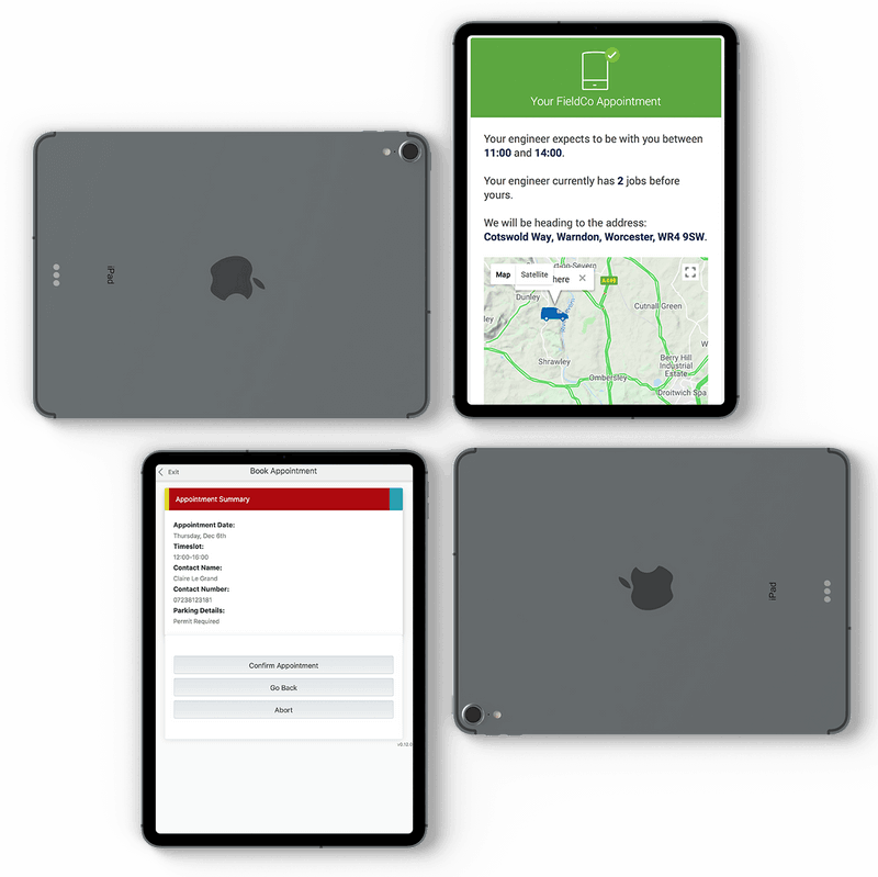 Leadent Digital iPad Mockups