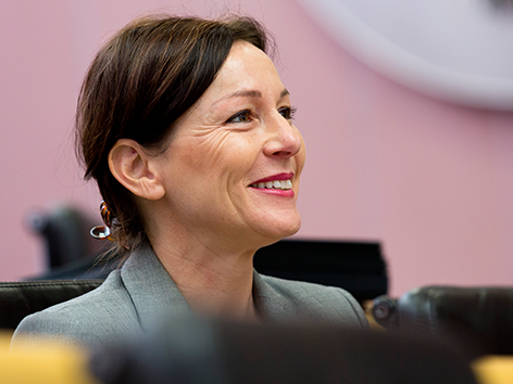 Martina Rüscher, Deputy of the Parliament