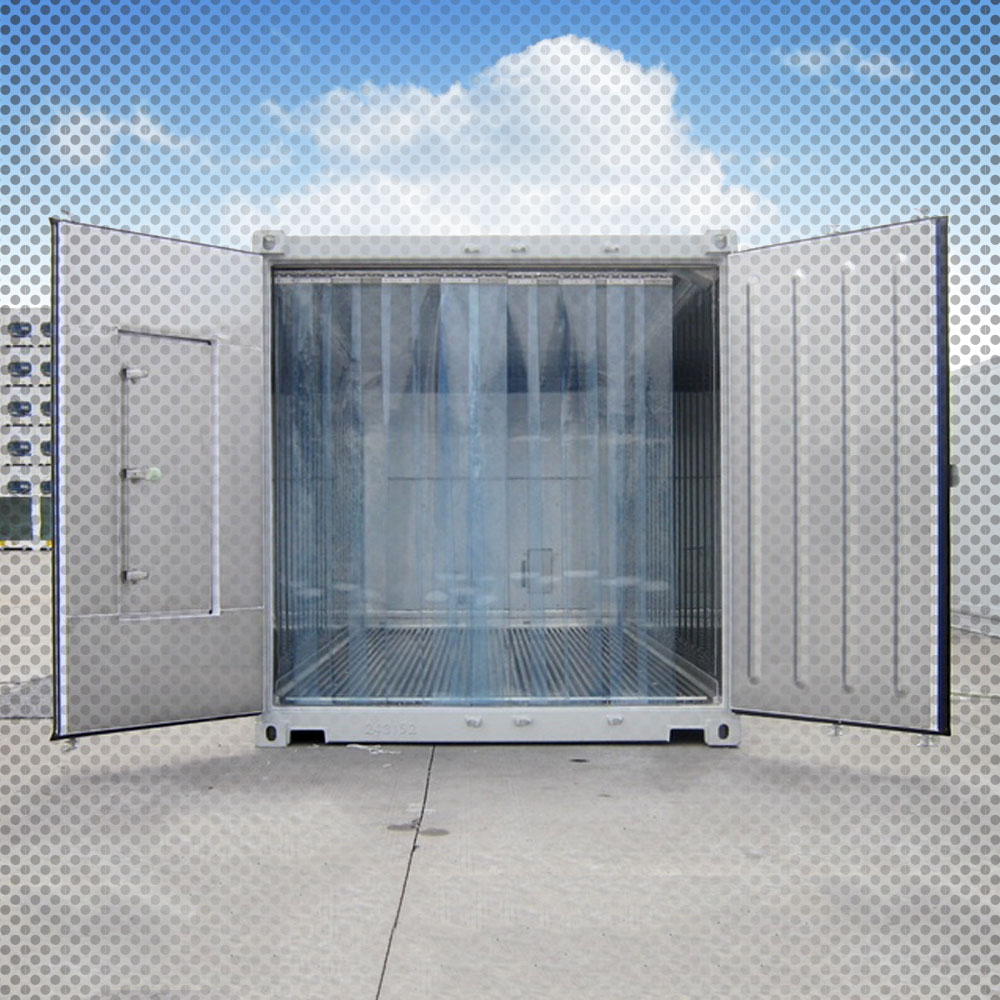 refrigerated storage container doors