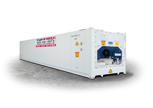 40-foot refrigerated container