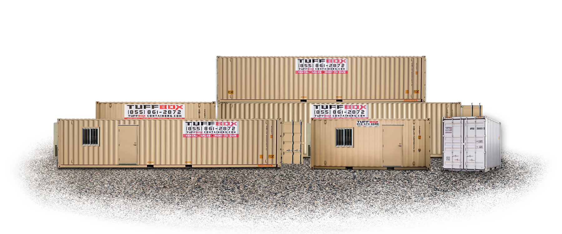 Office and storage containers
