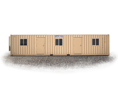 40-foot large mobile office container