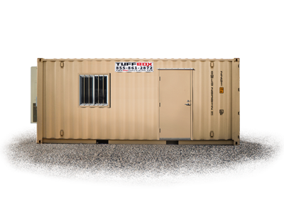 20-foot medium mobile office container