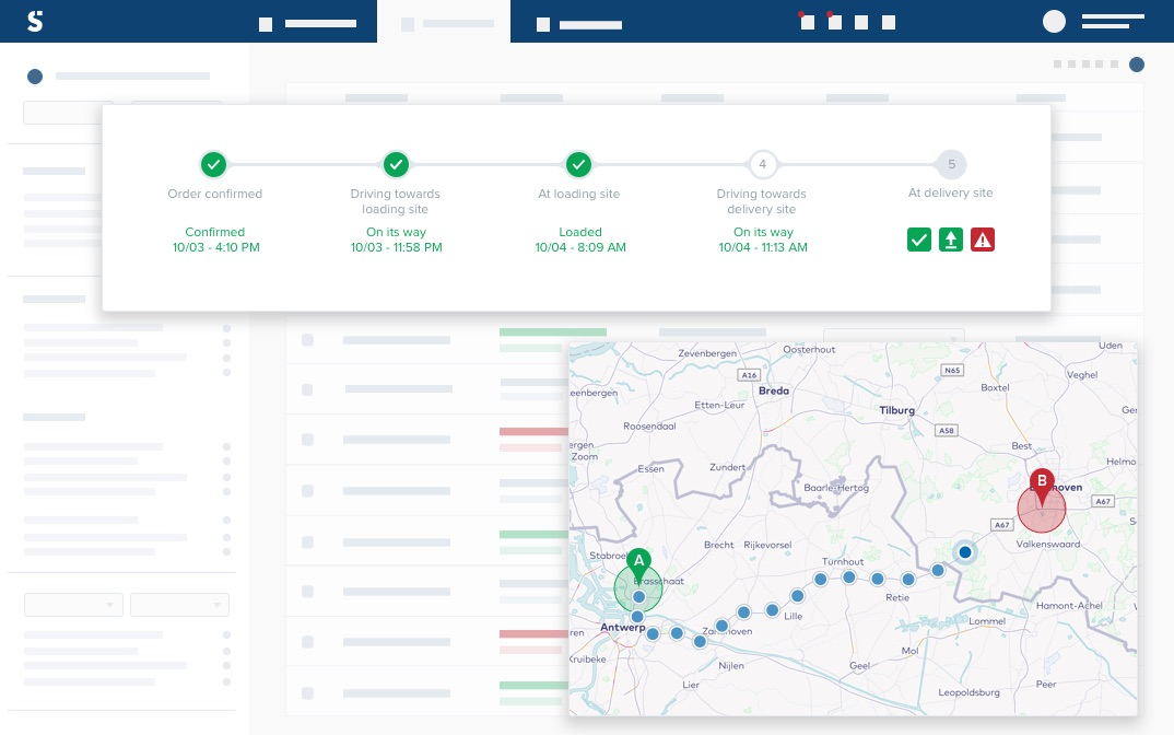 Predictive & real-time visibility of your deliveries | Shippeo