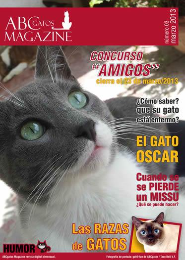 Portada ABCgatos Magazine No.3
