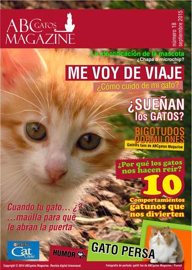 Portada ABCgatos Magazine No.18
