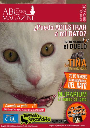 Portada ABCgatos Magazine No.20