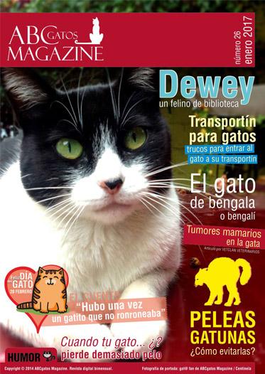 Portada ABCgatos Magazine No.26