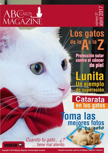 Portada ABCgatos Magazine No.27