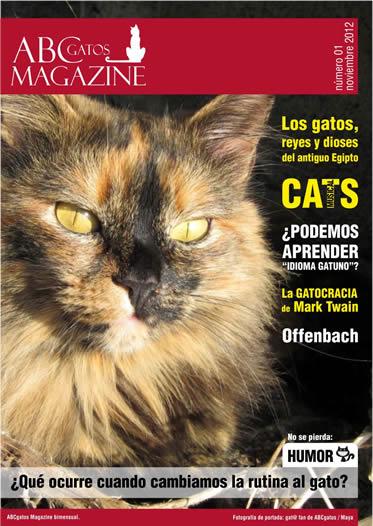 Portada ABCgatos Magazine No. 1