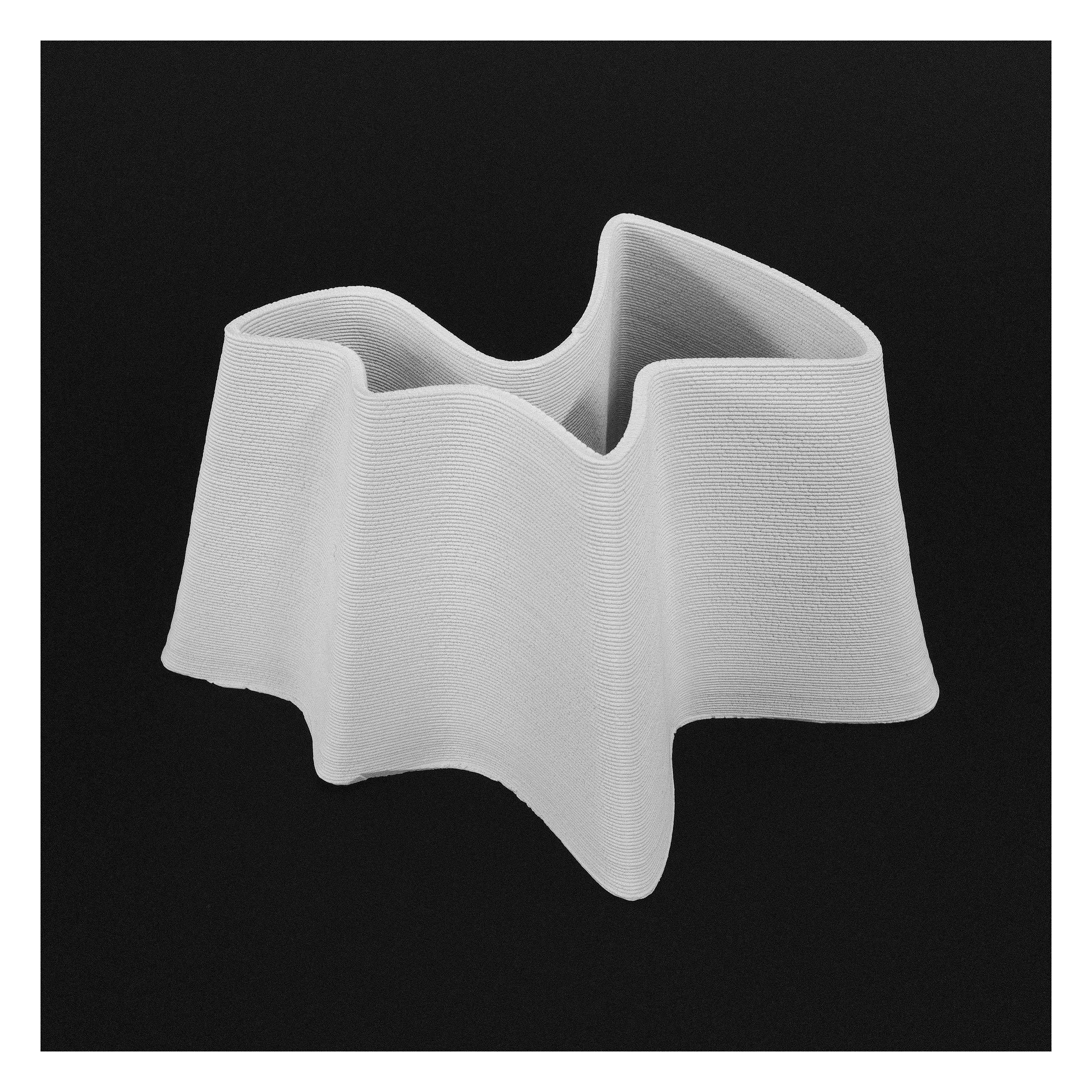 3D Printed Ceramic Pot