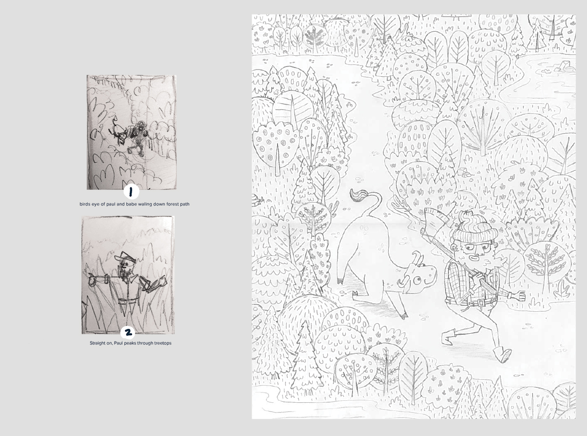 children's book illustration process sketches