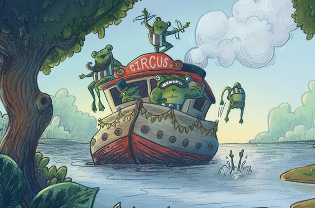 Illustration portfolio kidlit children's book printed portfolio book