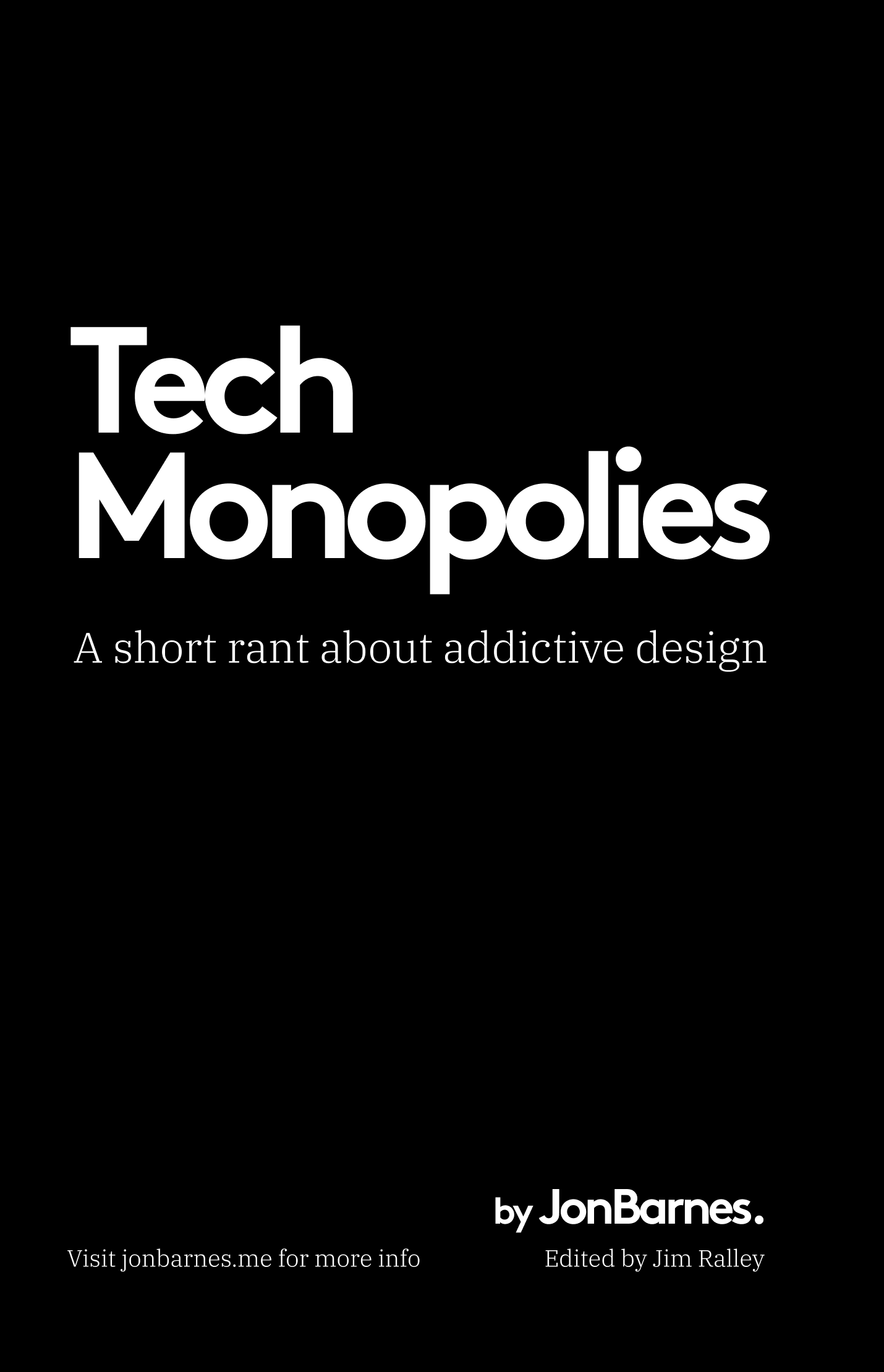 Tech-Monopolies