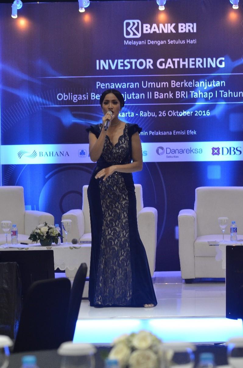 hanindo event organizer investor gathering bank bri