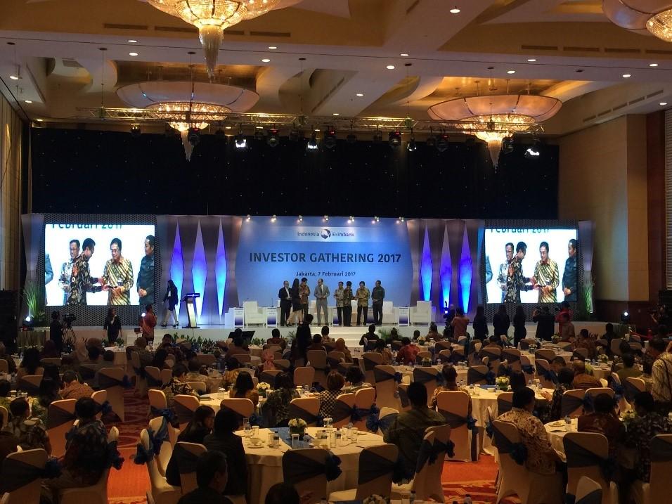Investor Gathering Organizer Eximbank - Hanindo Communication