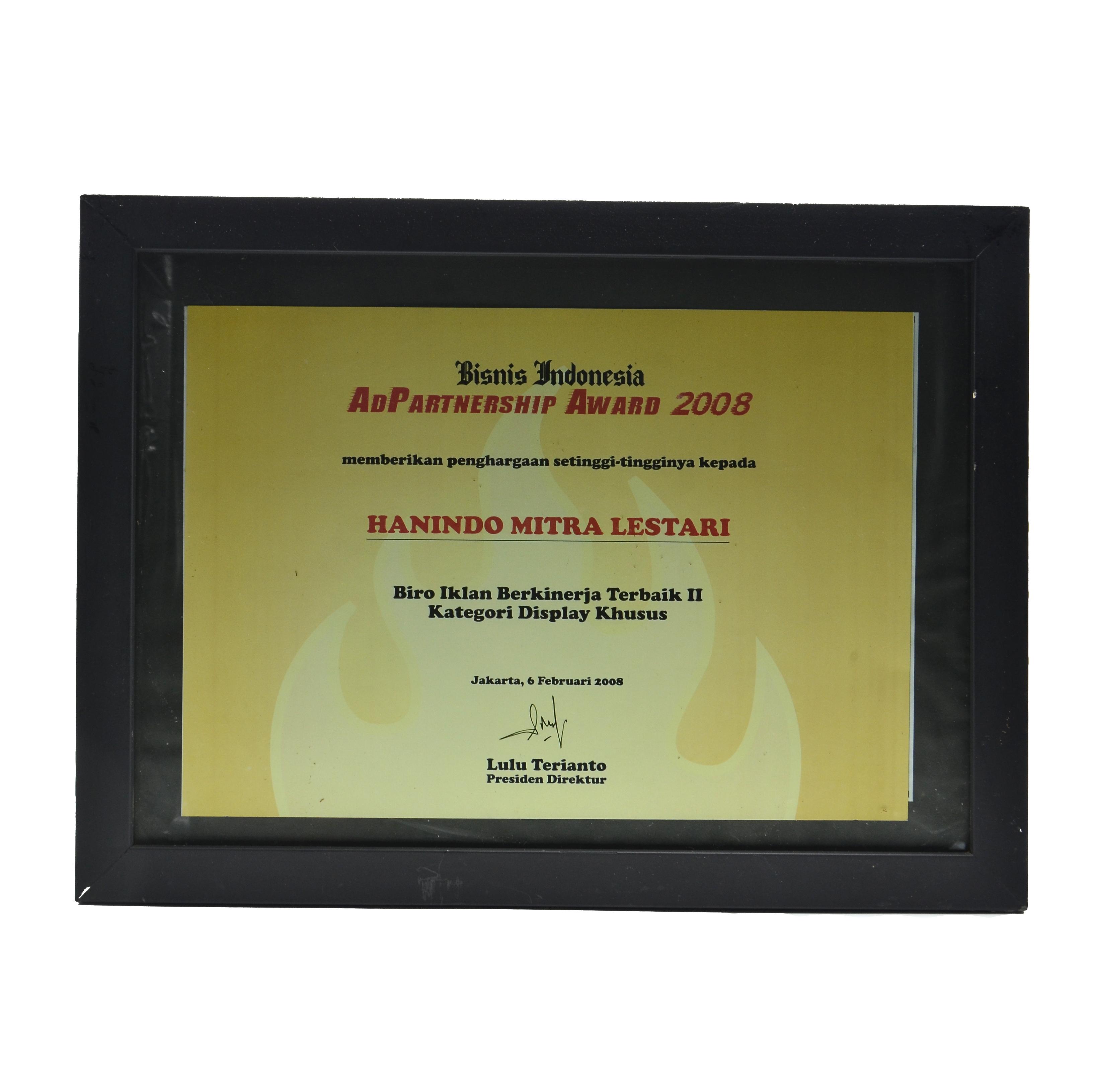 Bisnis Indonesia Biro Iklan Terbaik - Hanindo Mitra Lestari