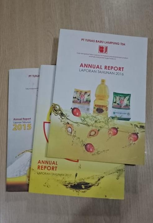 annual report tunas baru lampung