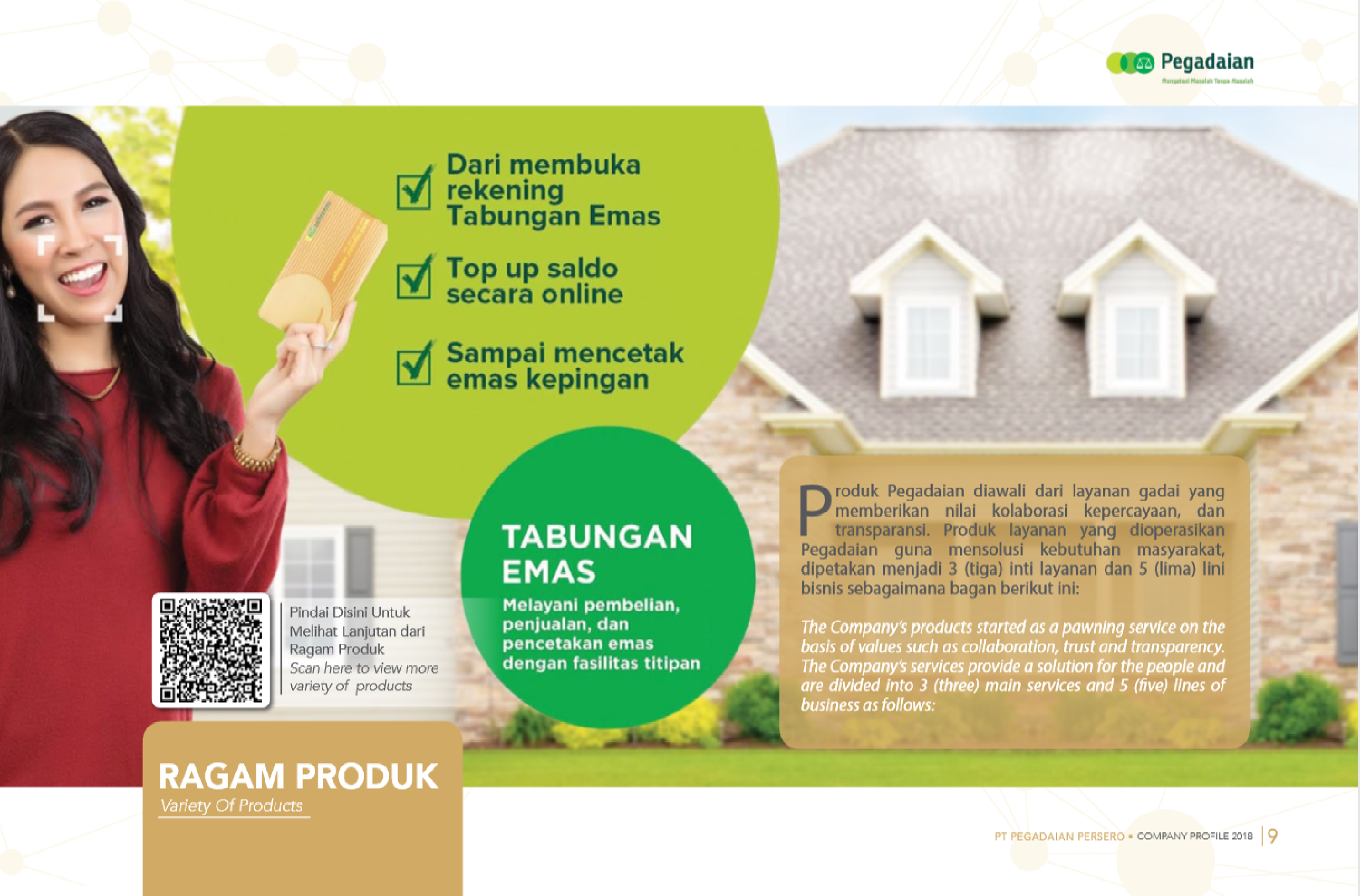 Company profile Pegadaian