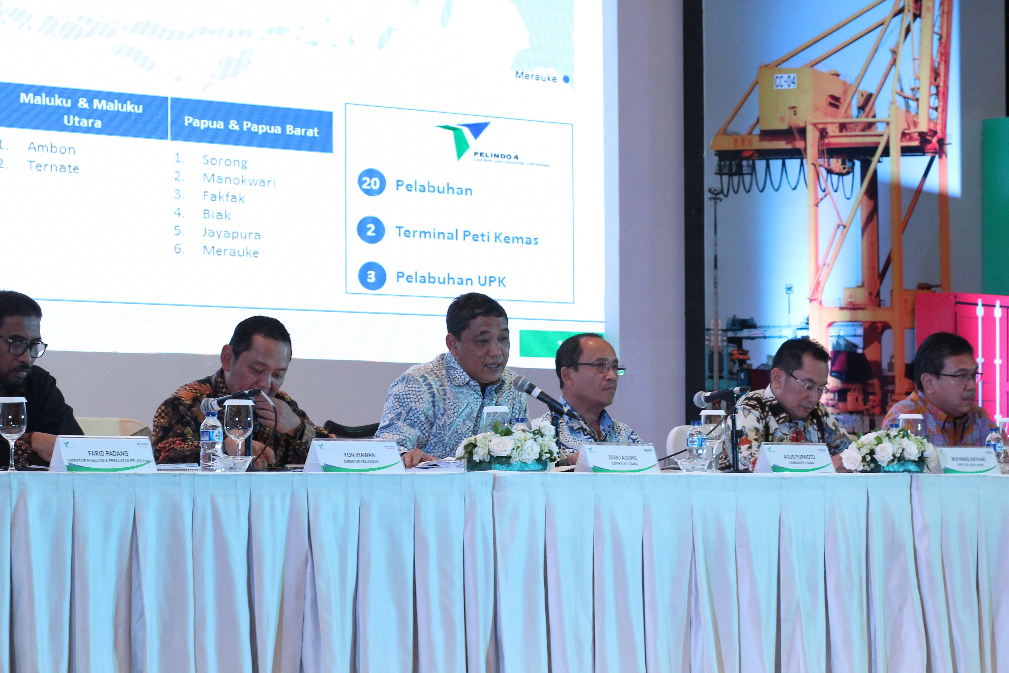 investor gathering pelindo iv
