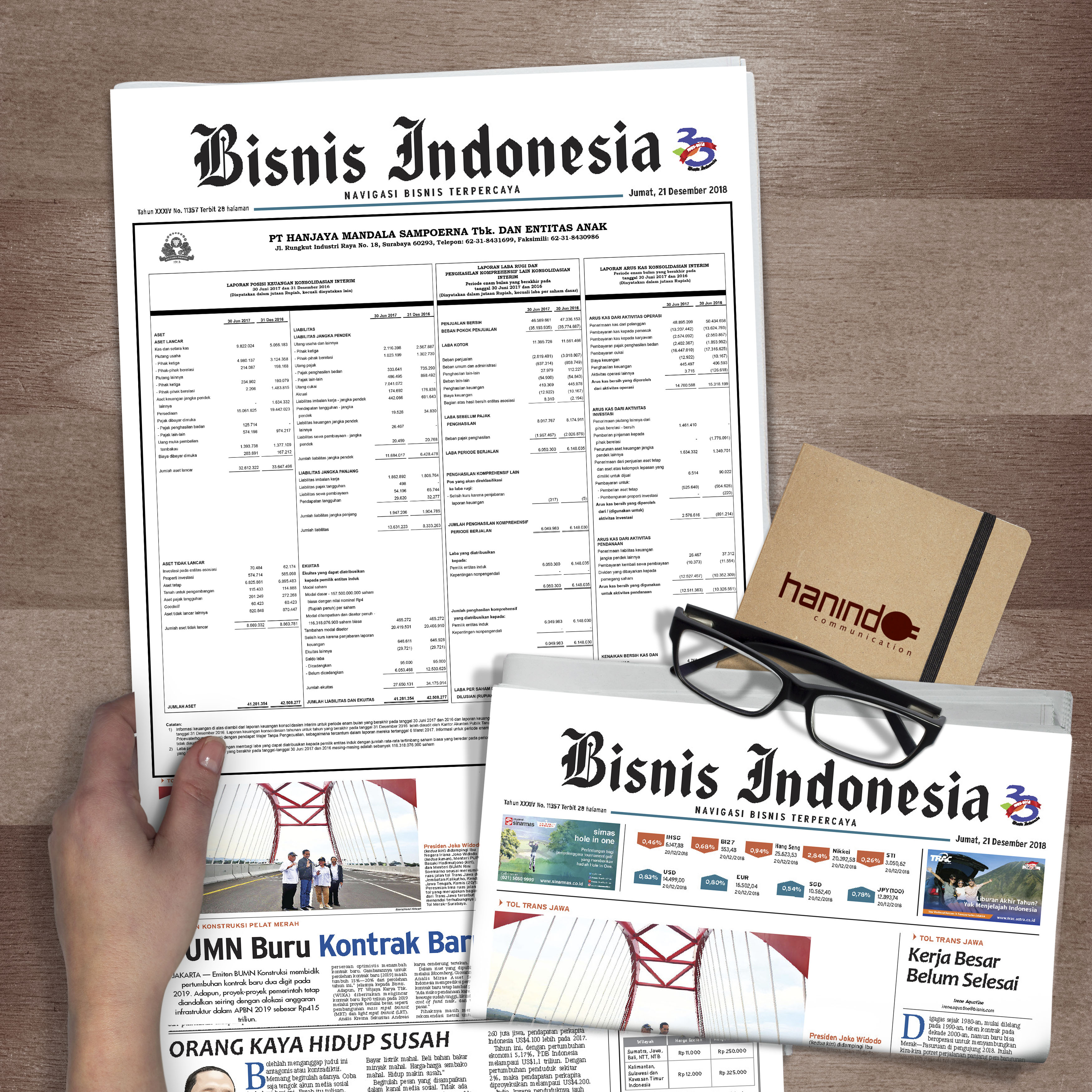 iklan laporan keuangan